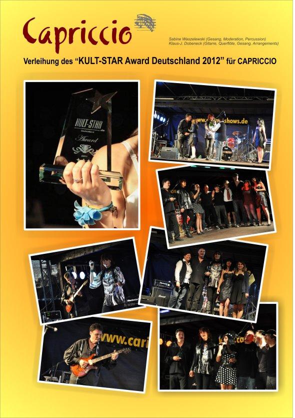 KULT STAR Award 2012_