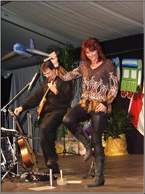 am 16.06.2010 eröffnete CAPRICCIO mit, Du hast den Farbfilm vergessen, mit Josefine Lemke das 143. Schul- und Heimatfest in Annaburg