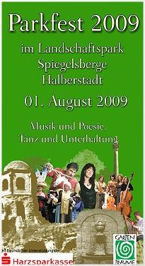 Parkfest in Halberstadt 2009