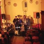 Konzert Rocklegenden Capriccio in der Luther Kirche Hohenthurm am 14.10.17