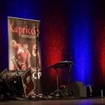 Bühnenbild vor Auftritt im Steintor Varieté Halle am 06.05.17
